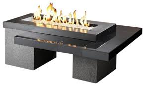 outdoor greatroom fire table outdoor greatroom uptown gas fire pit with 42 12 inch high btu