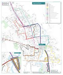 Map Of Napa Valley Routes U0026 Schedules Vine Transit
