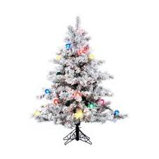 lowes artificial christmas trees with lights shop artificial christmas trees at lowes com