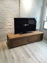 teak tv console ethnicraft hdb our minimalist scandinavian