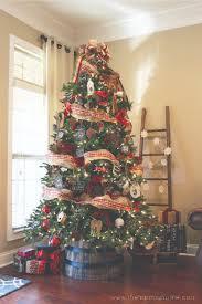 best 25 farmhouse christmas trees ideas on pinterest country