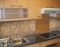 Kitchen Cabinet Tiles Elegant Kitchen Style Ideas With Black Brown Mosaic Glass Tile