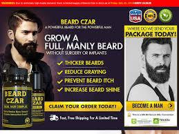 beard czar work best beard oil review growth