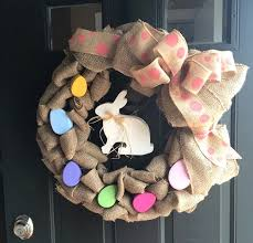 how to make easter wreaths easter wreath ideas how to make a burlap wreath
