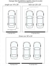 size of 2 car garage standard double garage size standard size two car garage plans