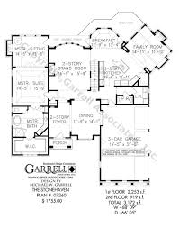 french floor plans stonehaven house plan covered porch plans