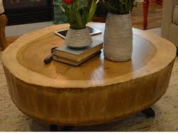 How Tall Should A Coffee Table Be by How To Build A Stump Coffee Table How Tos Diy