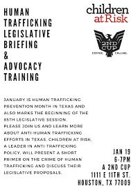 human trafficking legislative briefing u0026 advocacy training