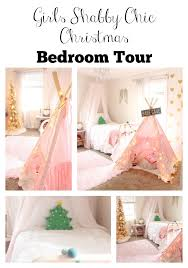 girls shabby chic christmas bedroom tour the glam farmhouse