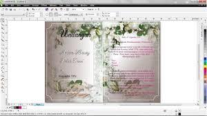 tutorial membuat undangan dengan corel draw 12 cara mudah membuat undangan pernikahan dengan coreldraw x6 hd youtube