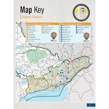 Map Book Backroad Mapbook Eastern Ontario Fishing Mapbook