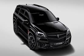 mercedes jeep matte black larte design kits turn up the heat on infiniti mercedes benz suvs
