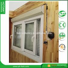 latest model with good price upvc window grill design horizontal