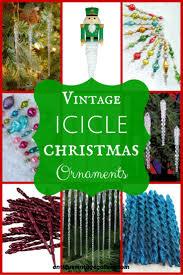 vintage christmas ornament icicle