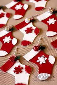 Christmas Stocking Decorations With Glitter by Best 25 Stocking Ornaments Ideas On Pinterest Fabric Ornaments