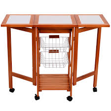 folding kitchen island kitchen islands carts walmart