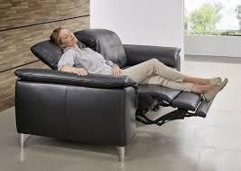 canap 2 places electrique canapé 2 places suprêmerelax électrique ergonomique en cuir
