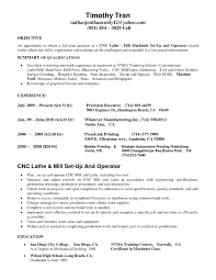 Machinist Resume Template Cnc Machinist Resume Samples Template Operator Getess Peppapp