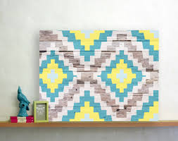 aztec adds a touch of tribal chic to your home with it u0027s bright
