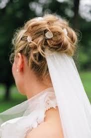 Hochsteckfrisurenen Hochzeit Dutt by Die Besten 25 Hochzeitsfrisur Dutt Schleier Ideen Auf