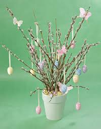 Tree Branch Decor Egg Shells Creative Crafts And Easter Decor Ideas