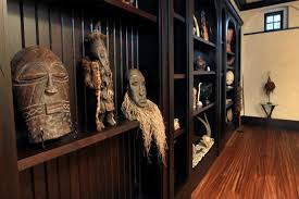 decorating with african masks small home ethnic interiors