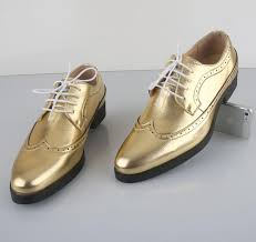 wedding shoes gold color 2015 new men s wedding shoes mens breathable leather shoes unique