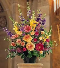 Traditional Flower Arrangement - traditional funeral flower arrangements flowers pinterest