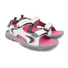 Flat Tennis Shoes Womens Trekking Sandals Dunlop Ladies Flat Open Toe Strap Walking