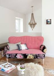 Floral Living Room Furniture What Goes With Floral Upholstery