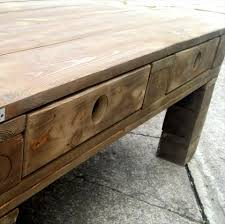 Coffee Table With Drawers by Simple Rustic Wood Pallet Coffee Table Pallet Furniture Diy