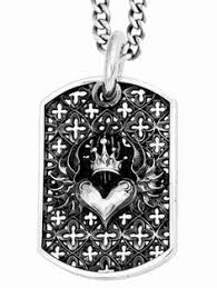 baby dog tags small chosen dog tag pendant king baby studio official site
