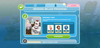 wedding cake sims freeplay the sims freeplay wedding belles update walkthrough sims community