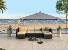 8 X 11 Rectangular Patio Umbrella 8 U0027 X 11 U0027 Rectangular Crank Lift Umbrella Um8811rt Swv Patio
