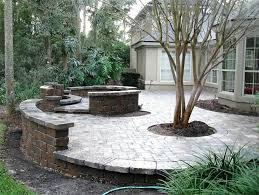 Custom Fire Pit by Small Patio Hardscape Ideas Hardscape Outdoor Patio Ideas Patio