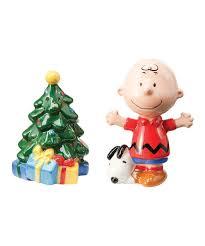 amazon com peanuts charlie brown christmas tree salt u0026 pepper