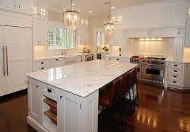 Kitchen Marble Countertops by Marble Kitchen Countertops With Pendant Lights