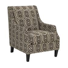 Ashley Furniture Accent Chairs Bernat Contemporary Linen Polyester Accent Chair Living Rooms