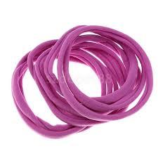 hair elastic hair elastic bobbles bands ties school ponios in hair