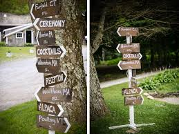wedding signs diy sign post diy a la cart