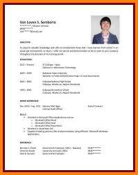 college student resume exles college student resume exles ojt menu and resume