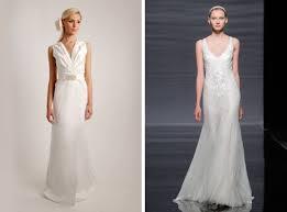 wedding dresses for banana column tube shaped brides