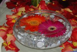 Ideas For Gerbera Flowers Sumptuous Design Floating Flower Centerpieces Flowers Fiftyflowers
