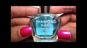 review u0026 demo kiss maximum nail strengthener youtube