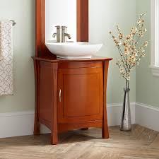 Cherry Bathroom Vanity Cabinets 24