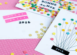 new year photo card ideas handmade new year greeting cards 2016 pink lover