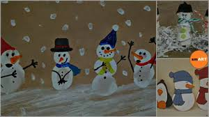 snowman crafts christmas 2016 youtube