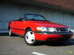 saab 900 convertible 1996 imola red saab 900 se turbo convertible 11578923 gtcarlot