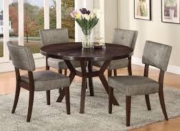 Dining Tables And 6 Chairs Sale Acme Furniture Drake Espresso 5 Piece Modern Dining Set