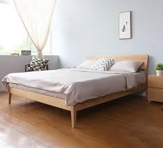 European Bed Frames Wooden Bed Frame Antoine Wooden Bed Frame